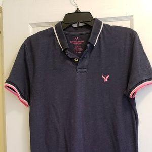 American Eagle polo shirt men's